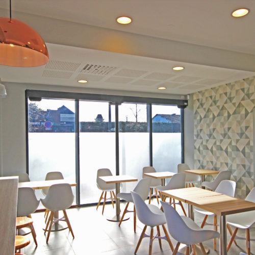 salle repas boulangerie Janneau style scandinave