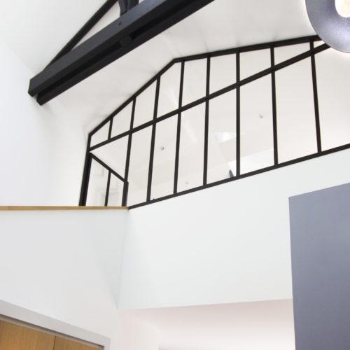 Verrière étage sous rampant
