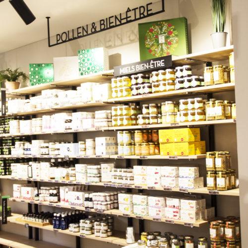Pollen & Bien être - Famille Mary - boutique