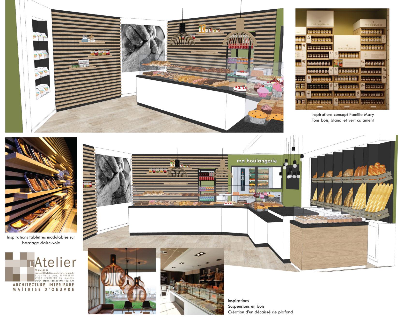 Ma Boulangerie VERTOU projet 3D