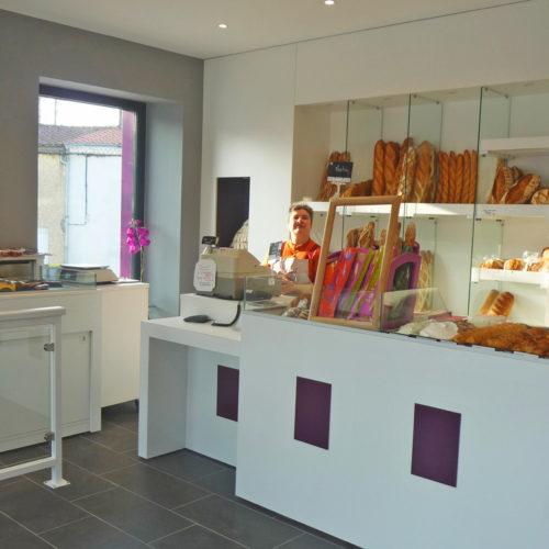 boulangerie La Chevrolière violet