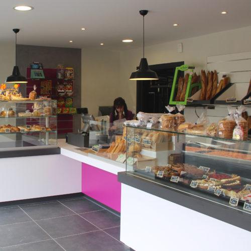 boulangerie Mougon ligne de vente sobre