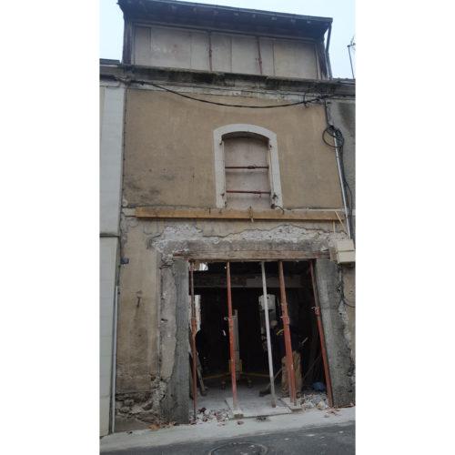 démolitions maçonnerie bâtisse