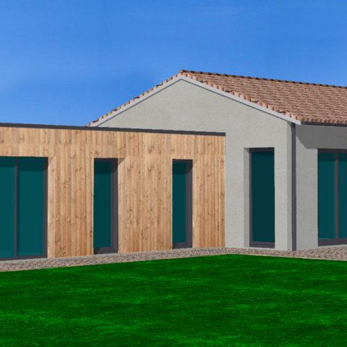 toit terrasse maison neuve