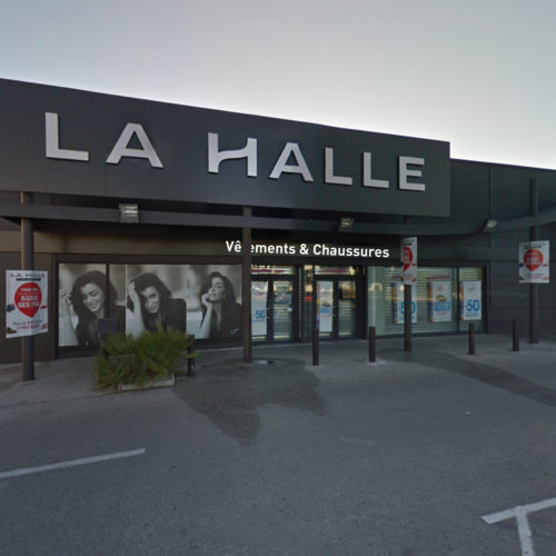 Marseille La Halle façade Beaumanoir